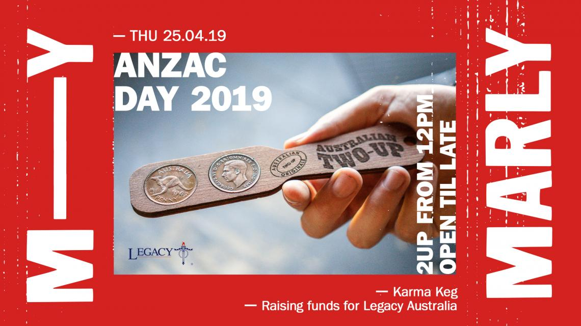 ANZAC Day at the Marly
