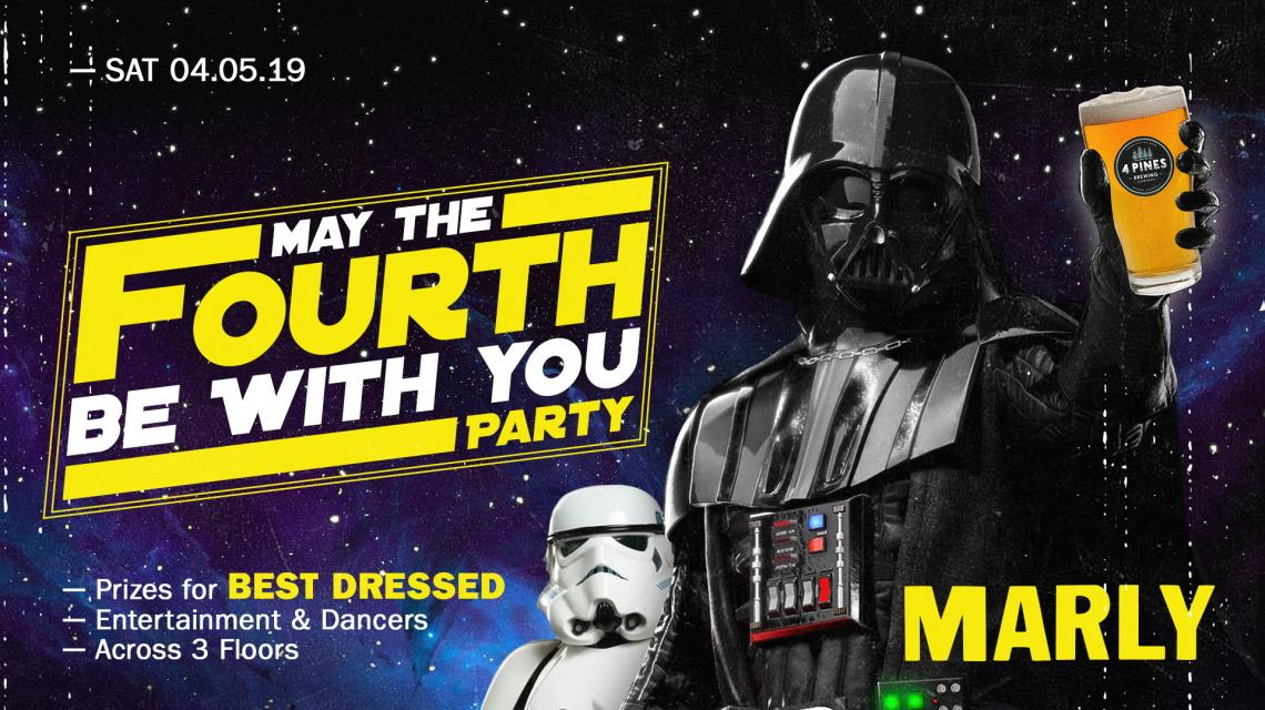 MARLY May the 4th Be With You Event Banner